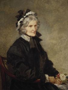 Portrait of the Artist's Mother, 1874 by John Gilbert
