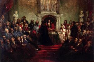 Presentation of the Freedom of the City to General Garibaldi, April 20 1864 by John Gilbert