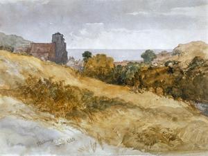 The Sea Near Hastings, 1853 by John Gilbert