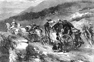 The Stage-Coach of the Last Century, 1855 by John Gilbert
