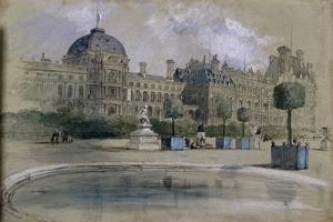 The Tuileries, Paris, France, 1846 by John Gilbert