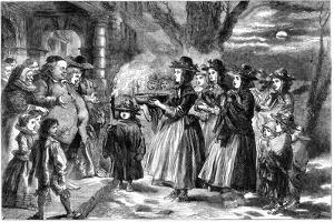 The Wassail Bowl, 1860 by John Gilbert