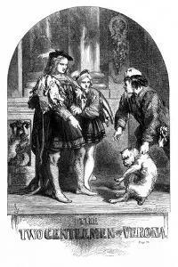 Two Gentlemen of Verona by John Gilbert