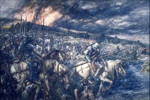 War: after the Battle, 1888 by John Gilbert