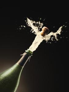 Exploding Champagne by John Gillmoure