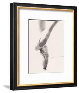Close-up of Ballerina's Feet and Legs by John Glembin
