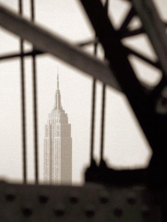 Empire State Building Through Manhattan Bridge