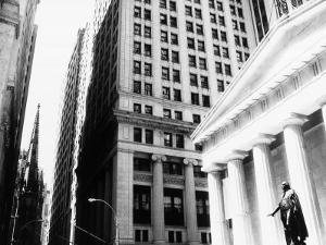 Wall Street, New York, NY by John Glembin