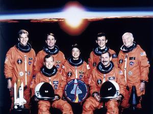 John Glenn and Crew, June 1998