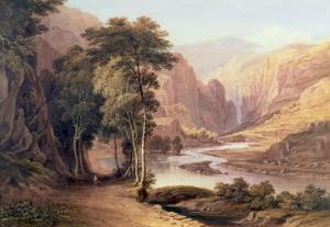 Tasmanian Gorge by John Glover