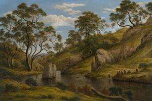 The Bath of Diana, Van Diemen's Land, 1837 by John Glover