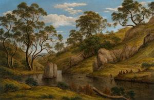The Bath of Diana, Van Diemen's Land by John Glover