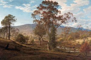 View of Mills Plains, Van Diemen's Land, 1833 by John Glover