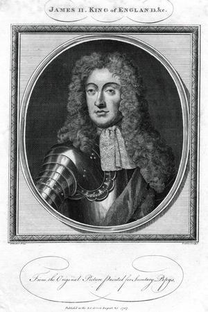 King James II of England