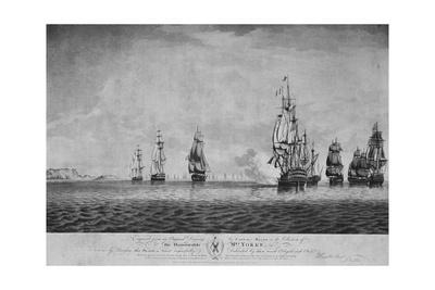 'The Battle of the Saints', c1795