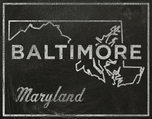 Baltimore, Maryland by John Golden