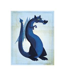 Blue Dragon by John Golden