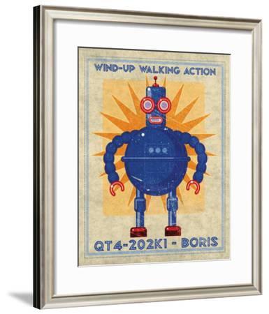 Boris Box Art Robot