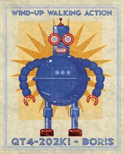 Boris Box Art Robot by John Golden