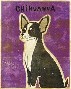 Chihuahua (black and white) by John Golden