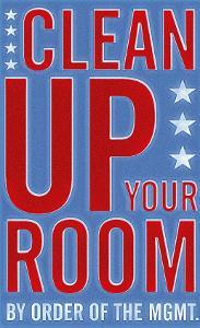 Clean Up Your Room by John Golden