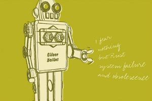 Lunastrella Robot No. 1 by John Golden