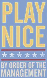 Play Nice by John Golden