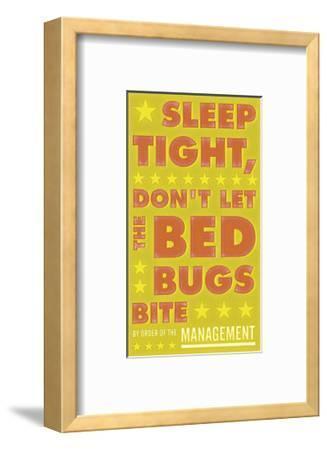 Sleep Tight, Don't Let The Bedbugs Bite (green & orange)