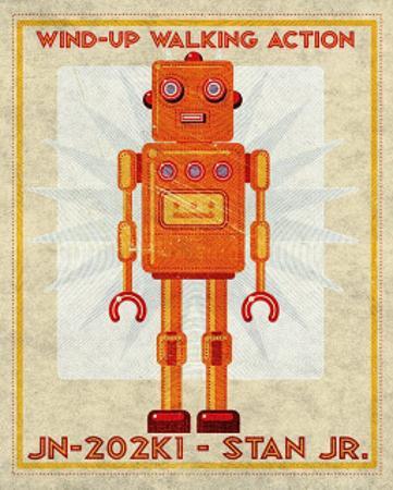 Stan Jr. Box Art Robot
