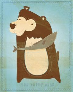 The Happy Bear by John Golden