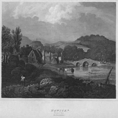 'Hawick. (General View.) Roxburghshire', 1814