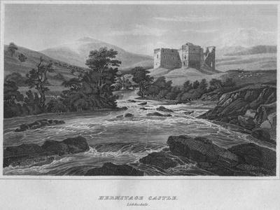 'Hermitage Castle. Liddisdale', 1814