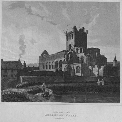 'South East View of Jedburgh Abbey. Roxburghshire', 1814