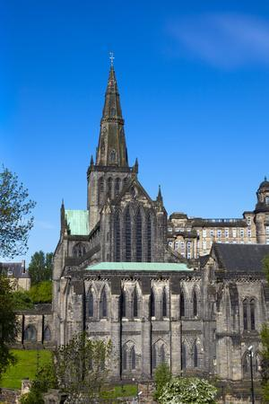 Glasgow Cathedral, Glasgow, Scotland, United Kingdom, Europe