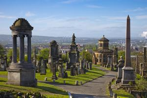 Glasgow Necropolis, Glasgow, Scotland, United Kingdom, Europe by John Guidi