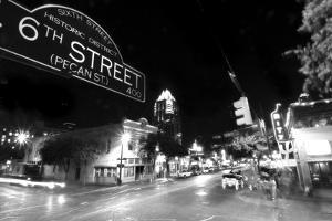6th Street BW by John Gusky