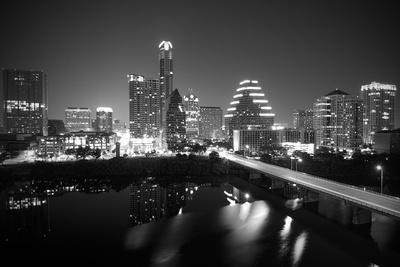 Austin Skyline 2010 B/W