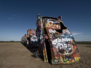 Cadillac Ranch 4 by John Gusky