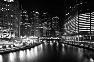 Chicago River by John Gusky