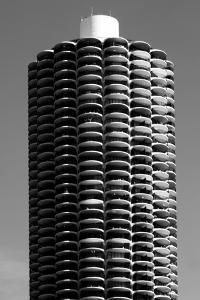 Corn Cob Building by John Gusky