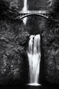 Multnomah Falls 2 Mono by John Gusky
