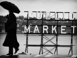 Seattle Rain by John Gusky