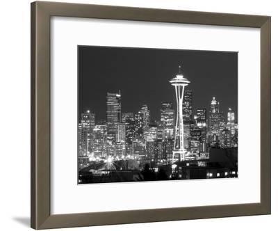 Seattle Skyline Mono