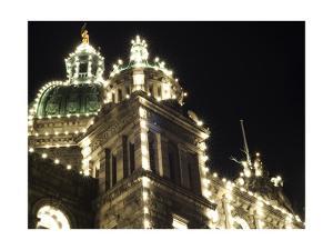 Victorian Parliament Building by John Gusky
