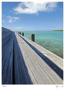 Bonefish Lodge Dock by John Gynell