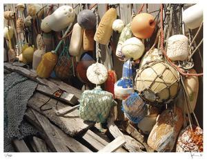 Buoys Spanishwells by John Gynell