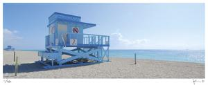 Haulover Beach Lifeguard 1 by John Gynell