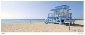 Haulover Beach Lifeguard 2 by John Gynell