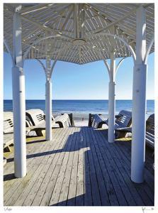 Natchez St. Beach Pavilion by John Gynell