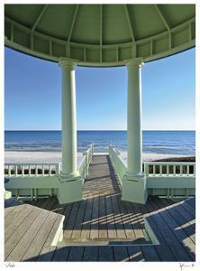 Pensacola St. Beach Pavilion by John Gynell